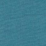Turquoise (blue) 100% Linen